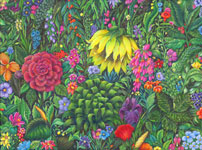 thumbnail version of floral painting